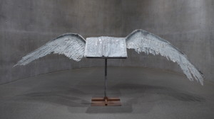 Anselm Kiefer, Book with Wings, 1992-94, lead, tin and steel