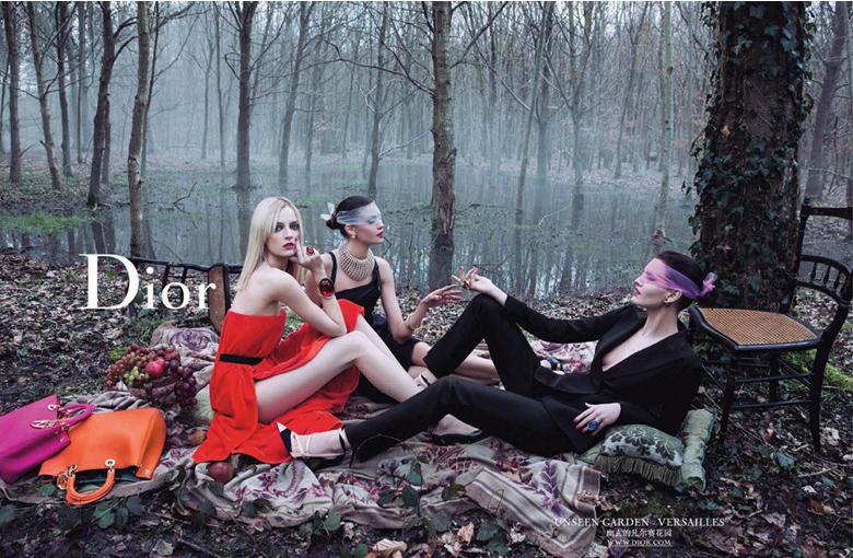 Dior Ad Campaign F/W 2013