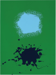 Adolph Gottlieb Blues on Green 1970