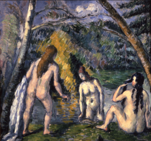 Cezanne Three Bathers 1879-82