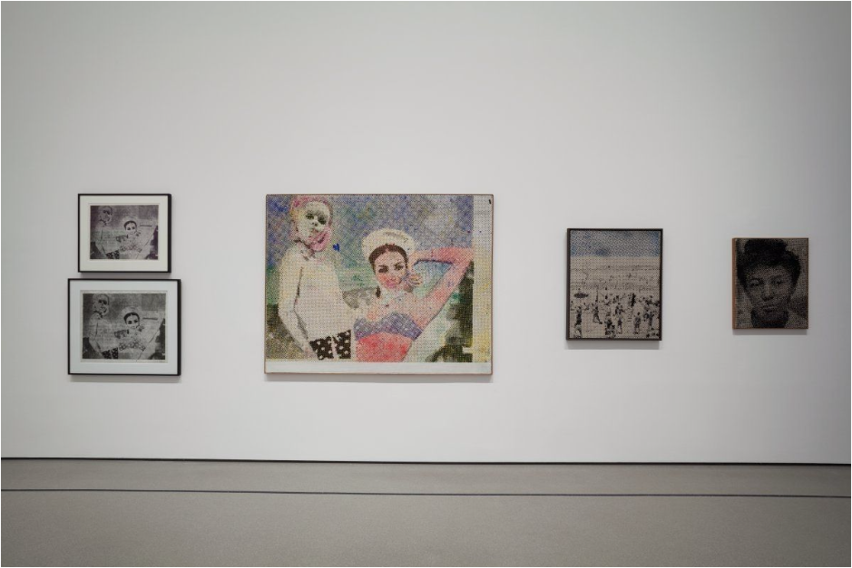 © 2014 The Museum of Modern Art. Photo: Jonathan Muzikar. All works by Sigmar Polke © 2014 The Estate of Sigmar Polke/Artists Rights Society